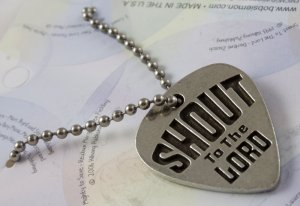 Shout To The Lord Pendant