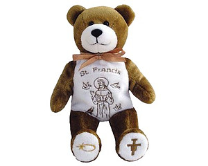 St. Francis Of Assisi Holy Bear