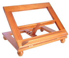Bible Stand - (Natural) 10in x 8in