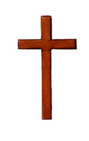 Hanging Wall Cross 4""