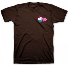 Faith Hope Love & Chocolate T Shirt: Brown, Adults Medium