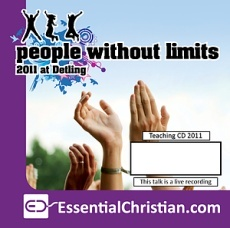 People Without Limits Bible Study 3 a talk by Jeff Lucas
