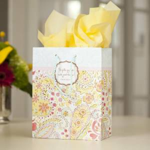 Good Things - He Fills My Life - Medium Gift Bag