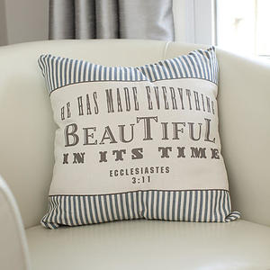 Redeemed - He Has Made Everything - 16x16 Pillow