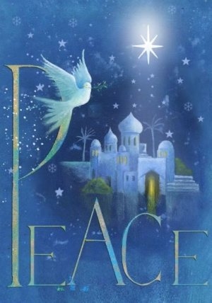 Dove Christmas Cards Pack of 10