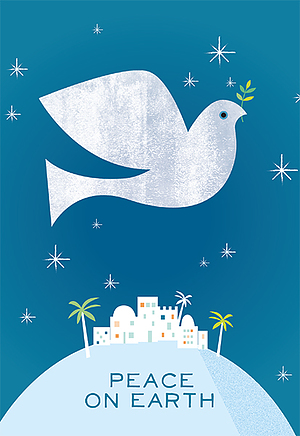 Peace On Earth Charity Christmas Cards - Pack of 10