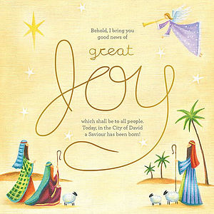 Great Joy Charity Christmas Cards - Pack of 10