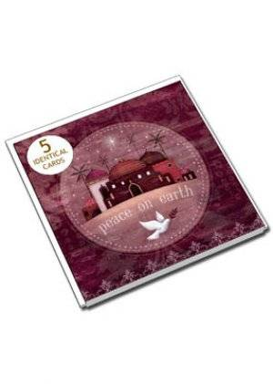 Peace on Earth Pack of 5
