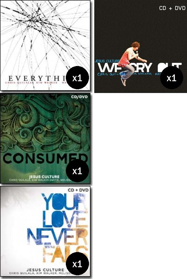 Jesus Culture Value Pack (4)