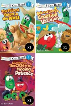 I Can Read Veggie Tales Value Pack