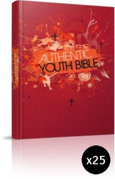 ERV Youth Bible Red Pack of 25