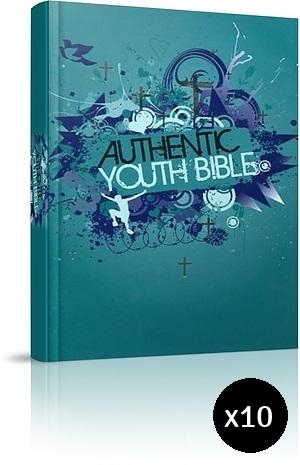 ERV Youth Bible Teal Pack of 10