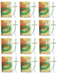 Happy Happy Cross Bead Activity and Card Pack of 12
