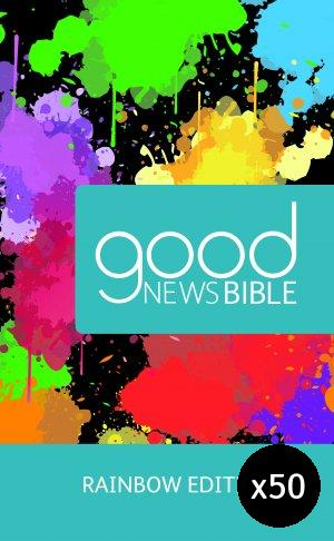 Rainbow Good News Children's Bible Pack of 50 Hardback