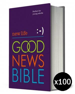 New Life Good News Bible: Hardback, Anglicised Pack of 100