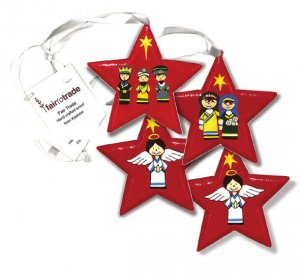 Nativity Star Decoration Value Pack