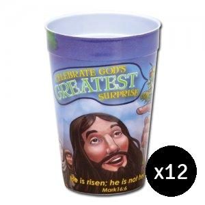 Celebrate God's Greatest Surprise Tumbler Pack of 12