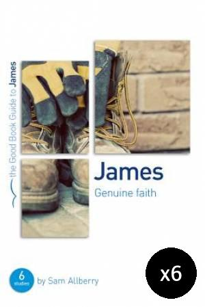 James: Genuine Faith Pack of 6