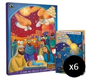 The Real Advent Calendar 2016 Pack of 6
