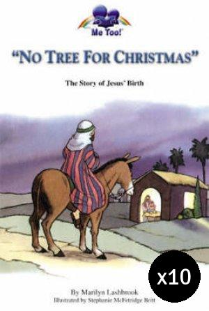 No Tree for Christmas - Pack of 10