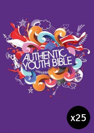 ERV Youth Bible Purple - Pack of 25