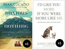 Lucado & Ortberg Value Pack