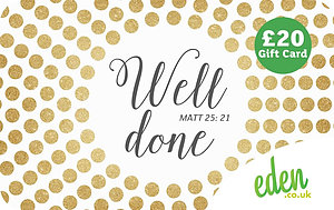£20 Well Done Gift Card