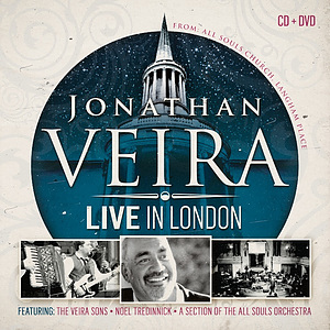 Jonathan Veira Live in London CD/DVD