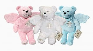 Guardian Angel Holy Bear Pink