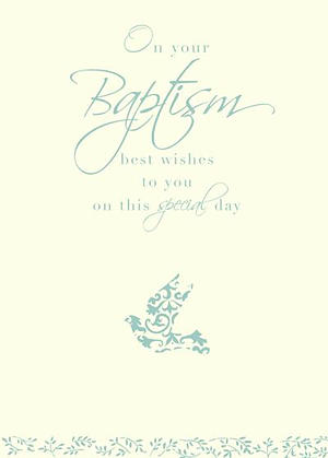 On Your Baptism Special Day Cards