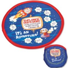 Exploring God's Word Flying Disc with Storage Pouch