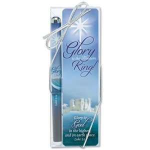 Glory to the Newborn King Pen and Bookmark Gift Set