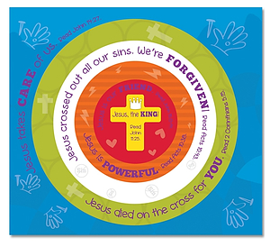 Jesus Lives! Let's Celebrate! 6-Part Activity Magnet