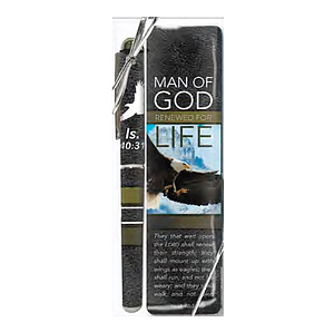 Man of God Bookmark and Pen
