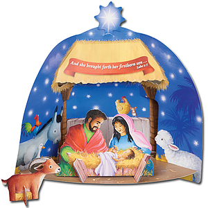 Build Your Own Stand Up Nativity
