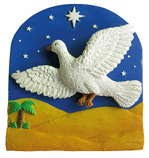 Dove of Peace 'bobble' Magnet