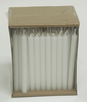 "6"" Votive Candles - Pack of 100"