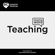 How did Jesus really teach? a talk from Spring Harvest