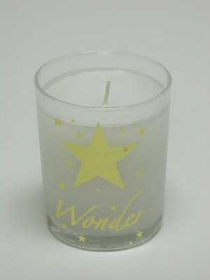 Wonder Candle In Glass - Single