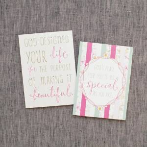 God's Plan for You - 12 Boxed Note Cards