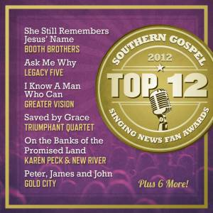 Singing News Top 12 Southern Gospel Songs 2012