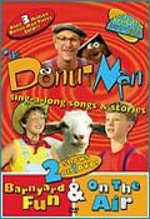 The Donut Man: Barnyard Fun & On The Air DVD