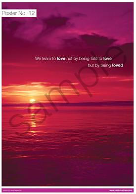We learn to love Poster