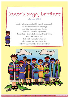 Joseph's Angry Brothers Poster