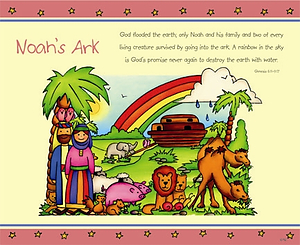 Noah's Ark Mouse Mat