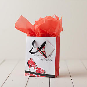 Walk By Faith - Small Gift Bag with tissue