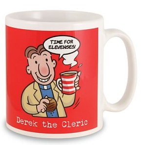 Derek the Cleric Mug