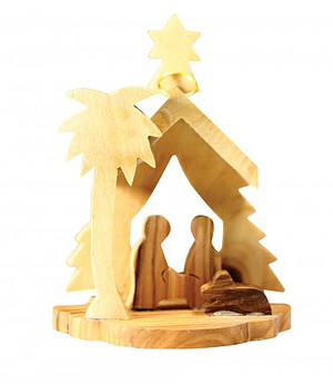 Nativity Scene Tree Ornament