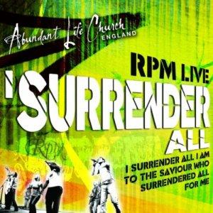 I Surrender All CD/DVD