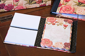 Summer Garden - Notebook Portfolio